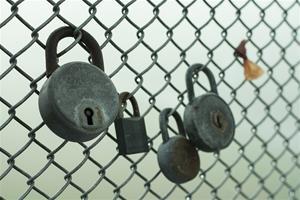Lås-staket