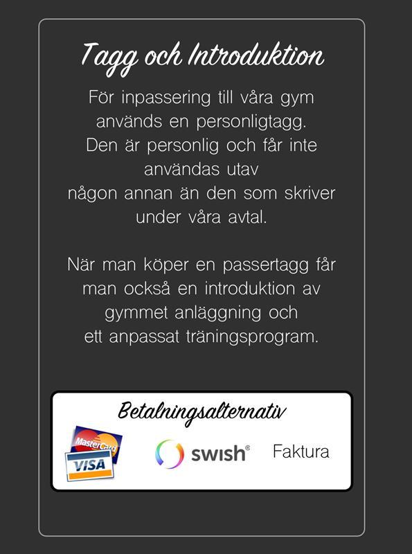 tagg info