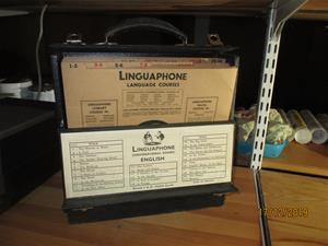 No. 49. Linguaphone Språkkurs med Stenkakor. (537). IMG_8640