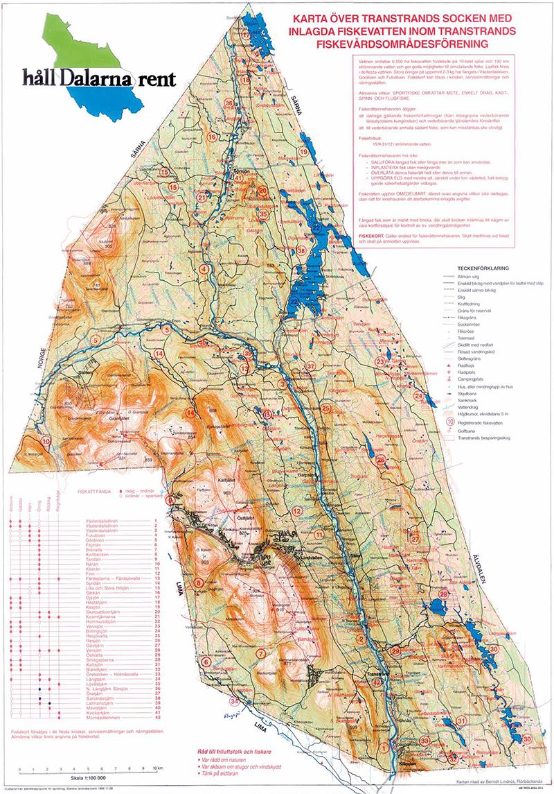 Transtrands FVOF Fiske karta 2016-mellan
