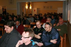 Ca 120 deltagare på mötet