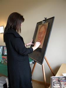 Ett porträtt tar ca 7 minuter att göra