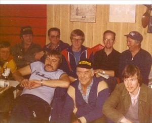 Älgjaktspremiären i Råneträsk JVF 1981