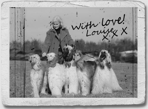 Louise with the gang!
