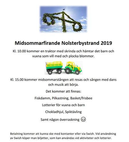 Midsommar Nolsterby 2019