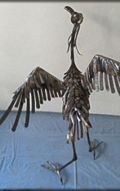 Plastika pták