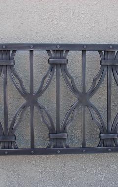 Kovaná mříž