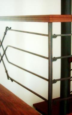 kované zábradlí