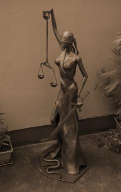 alegorie spravedlnosti - Justýna