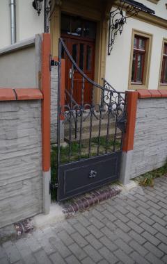 Kovaná branka