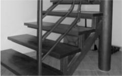 Kovaná schodiště