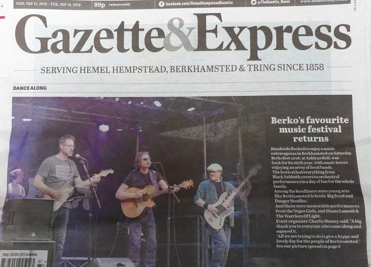 BerkoFest hits the headlines!