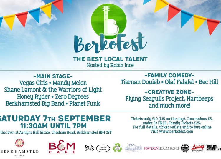 BerkoFest Line Up