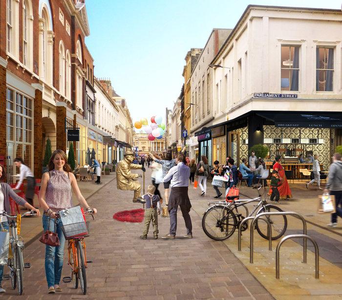 Whitefriargate Shopfronts