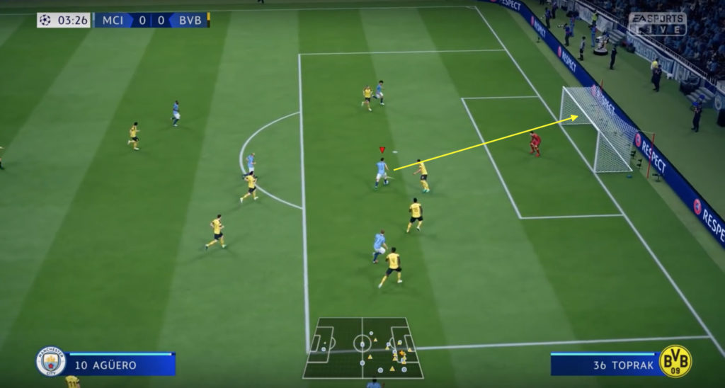 how to finish one-on-ones in fifa 19