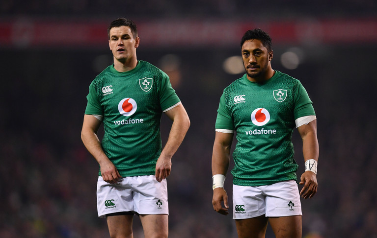 Ireland change four for All Blacks clash