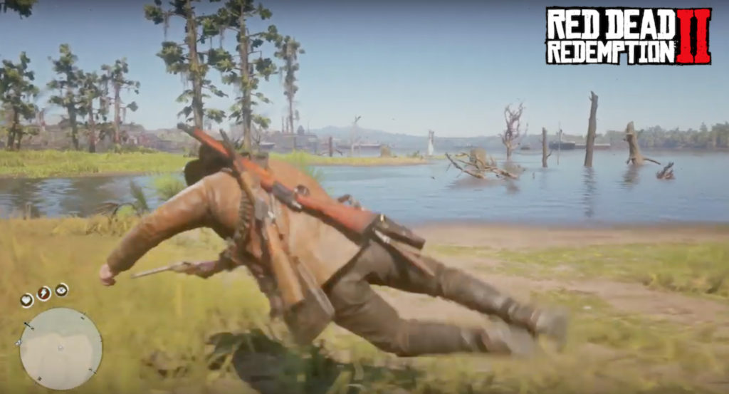 how to dive in red dead redemption 2