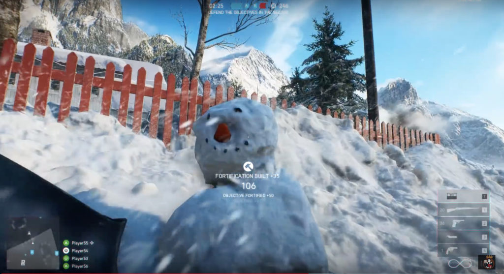 How To Build A Snowman In Battlefield V