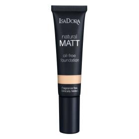 isadora natural matt foundations for any skin type