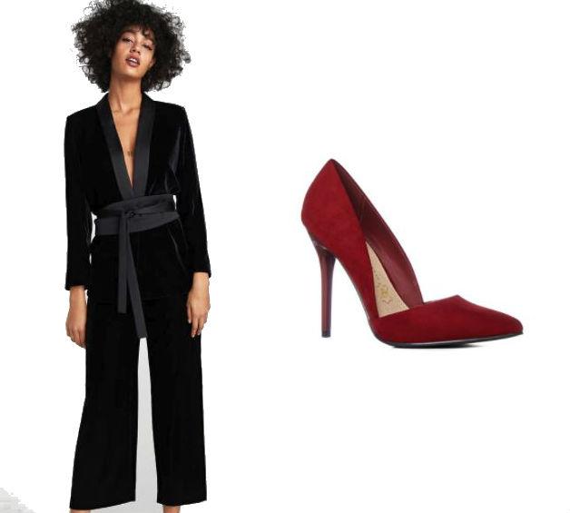 zara penneys desk to dancefloor outfit