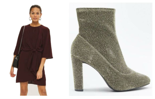 topshop dress new boot boots desk to drinks