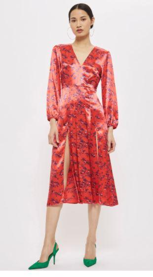 topshop little red dresses