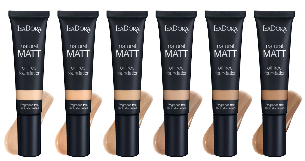 Isa Dora natural matt foundation