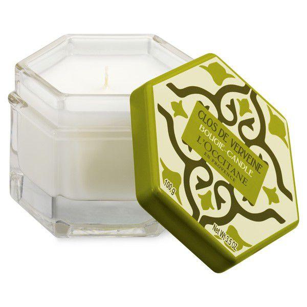 l'occitane scented candle