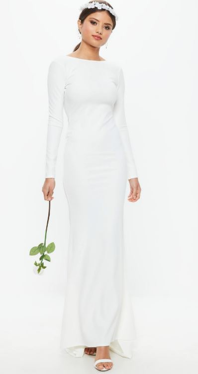 missguided bridal gown