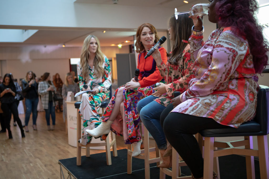 Beaut Awards 18 Beauty of Confidence panel