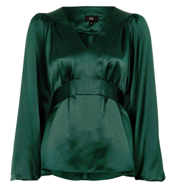 green blouse meghan markle style