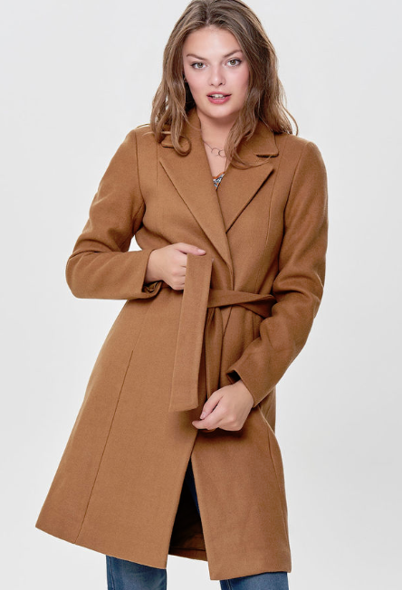 only high street camel coats