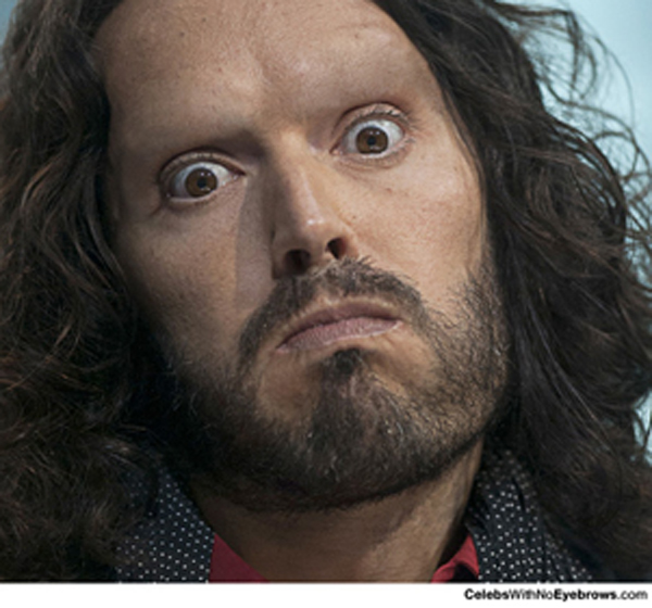 8 Celebrities You Didnt Realise Have No Eyebrows Collegetimes