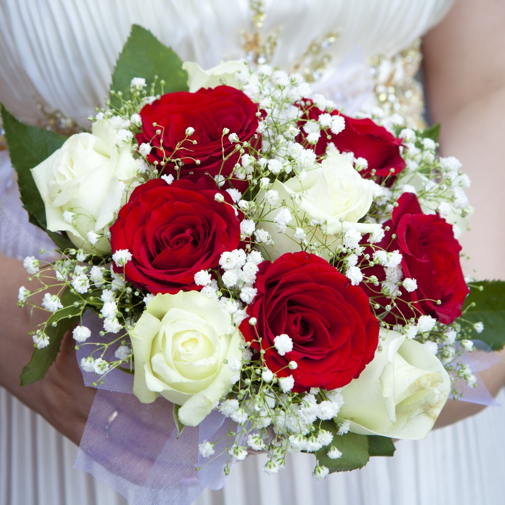 Beautiful Bridal Bouquets Inspired By Valentine's Day