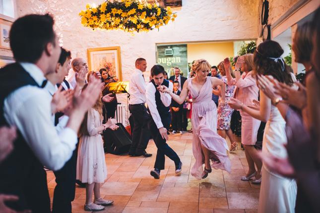 confetti magazine,Real weddings, Irish weddings, bridal, wedding inspiration, wedding photos, Ballydougan pottery, boho wedding, dancing, Kat Mervyn photography