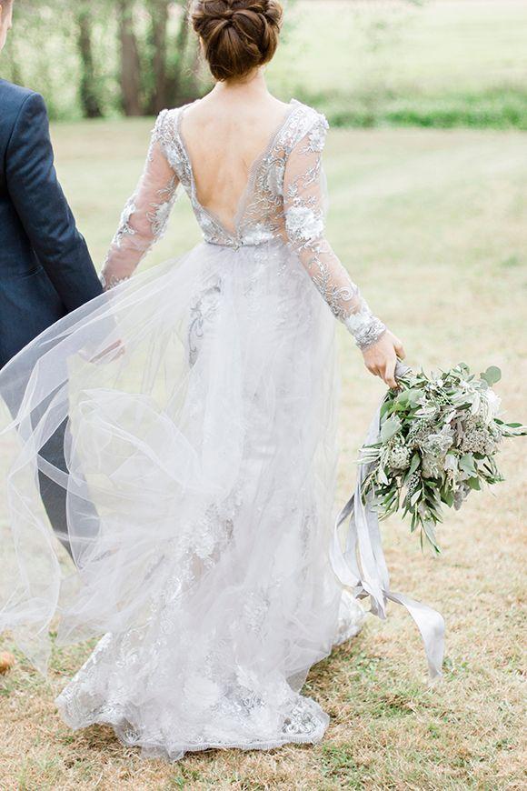 Grey wedding dresses for the adventurous bride | Confetti.ie