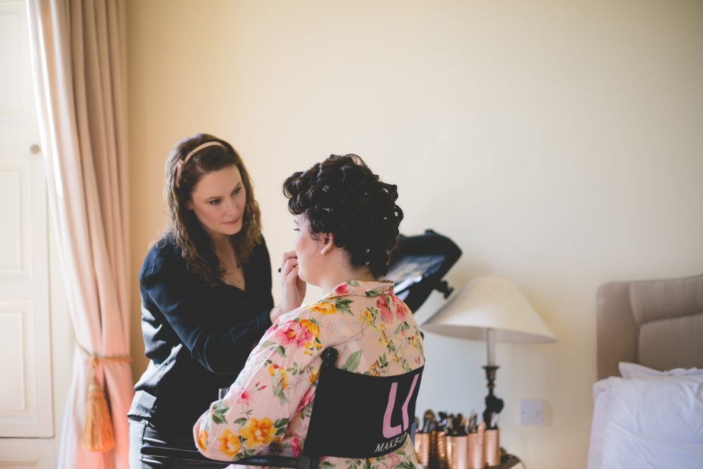 Irish wedding makeup artists