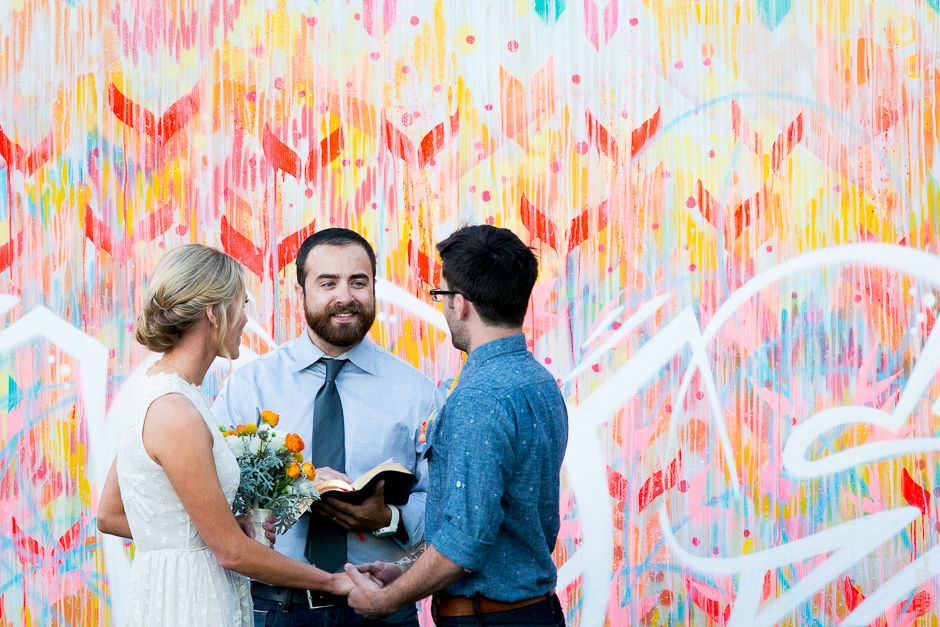 hand-painted ceremony backdrops