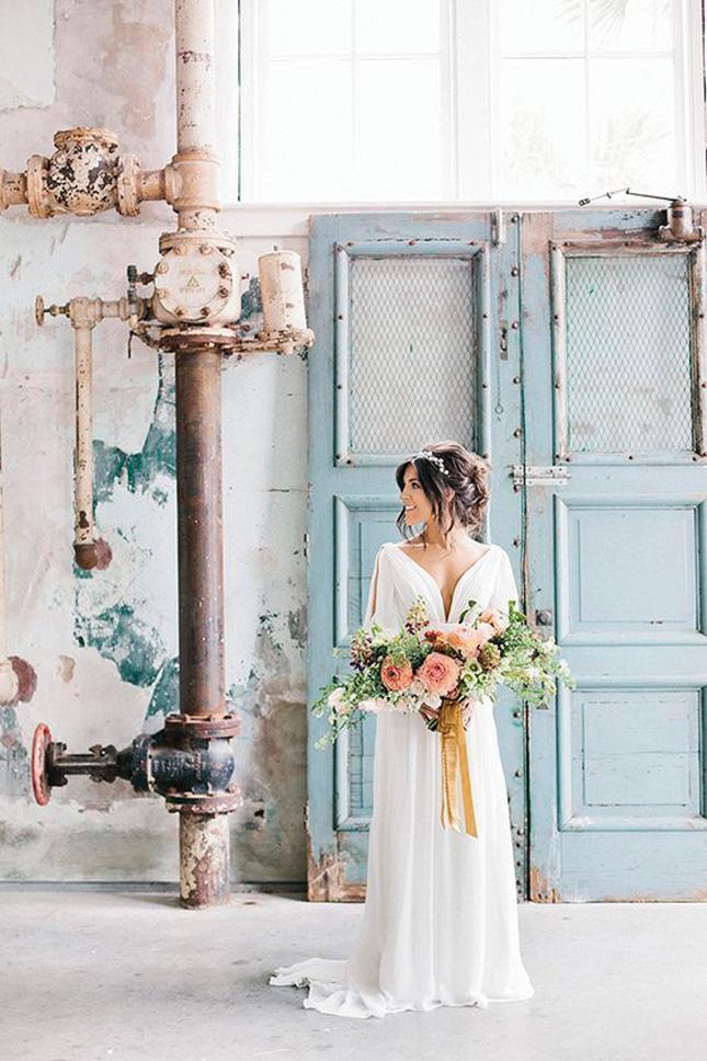 urban-inspired wedding