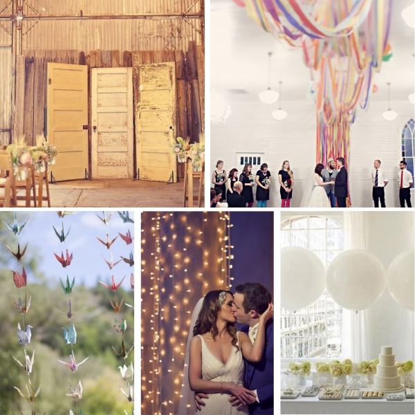 Best Diy Wedding: Five Of The Best DIY Wedding Backdrops