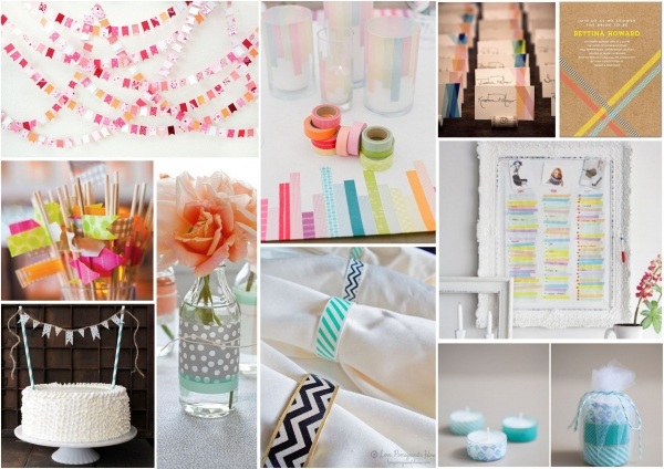 Top Ten Diy Washi Tape Wedding Ideas Confetti Ie