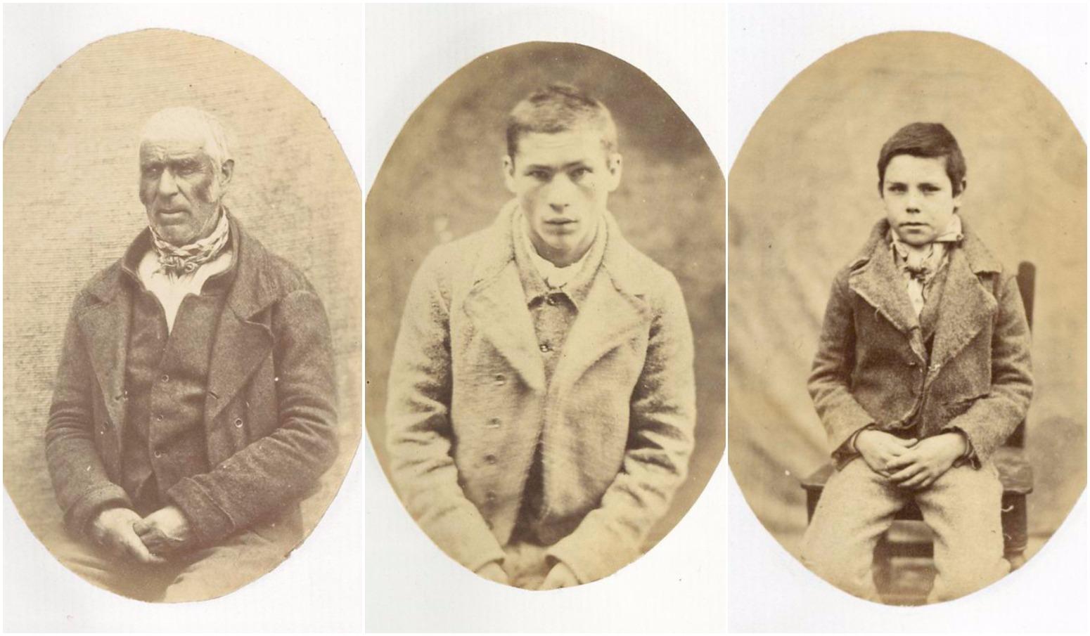 Irish prison mugshots from over 150 years ago provide haunting