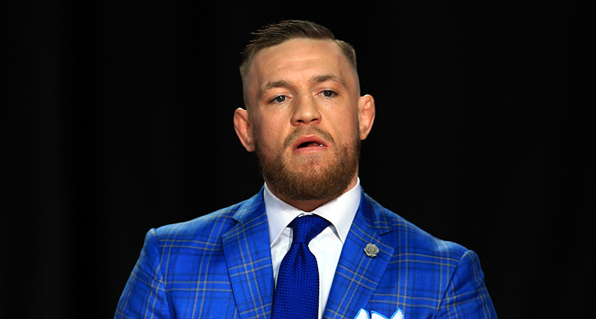 Conor McGregor sorry for running out of whiskey