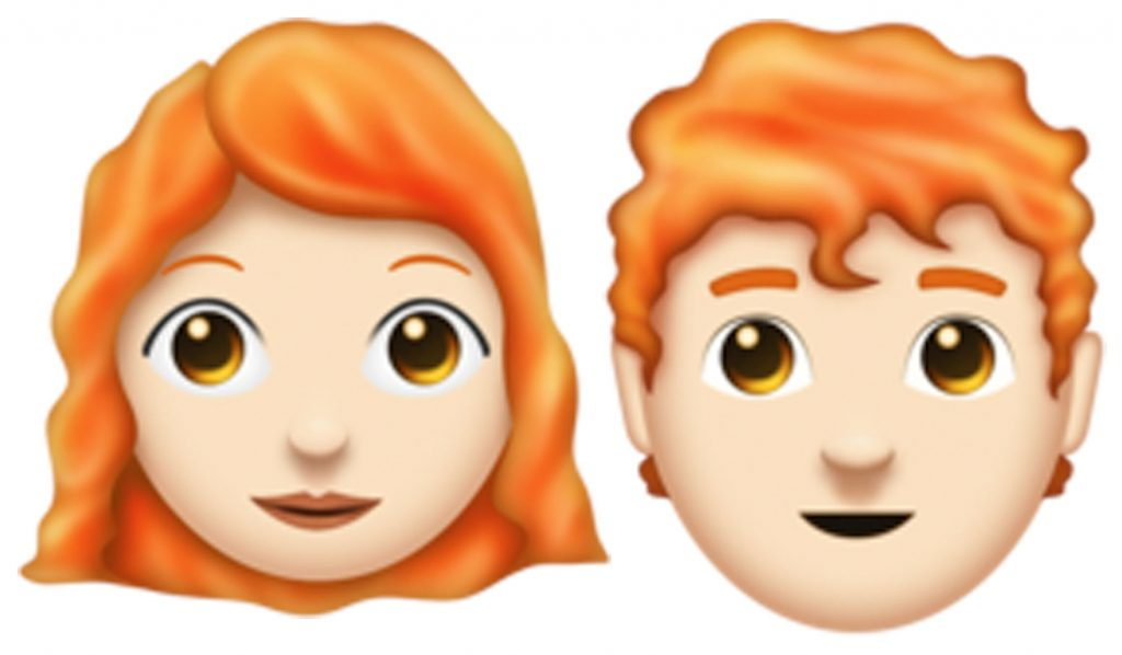 The ginger emoji has finally arrived on iPhone - but not all
