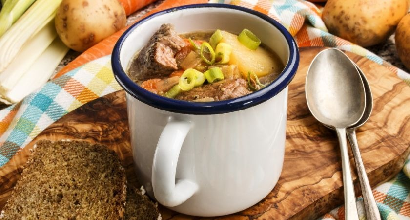 Guinness and Jameson stew.