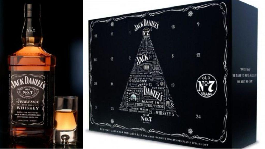 Jack Daniels Advent Calendar.A Jack Daniel S Advent Calendar Containing 23 Bottles Of Whiskey On