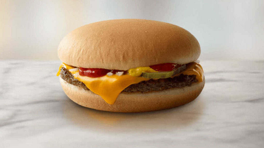 Image result for mcdonalds cheeseburger