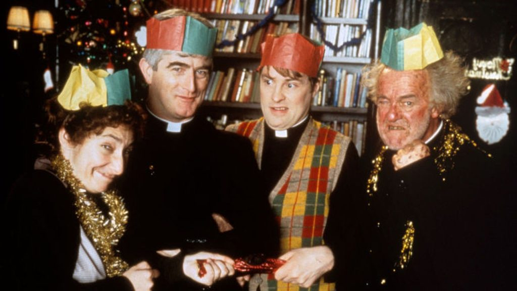 Father Ted festive episode voted among top 10 greatest