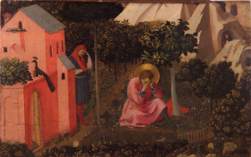 San Agustín conversión