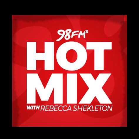 98FM's Hotmix with Rebecca Shekleton